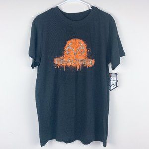 NWT Realtree Men's Black Graphic Tee size Large